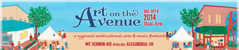 """Art on the Avenue - My booth is """"W 81""""."""