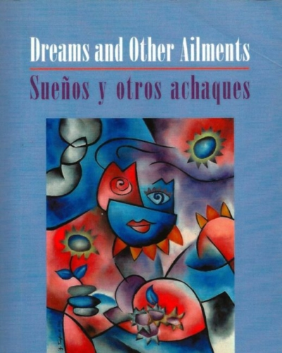 "Cover art and design for book ""Dreams and Other Ailments"" for Gival Press"