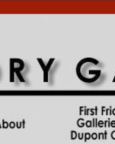 The Foundry Gallery website designed circa 2003