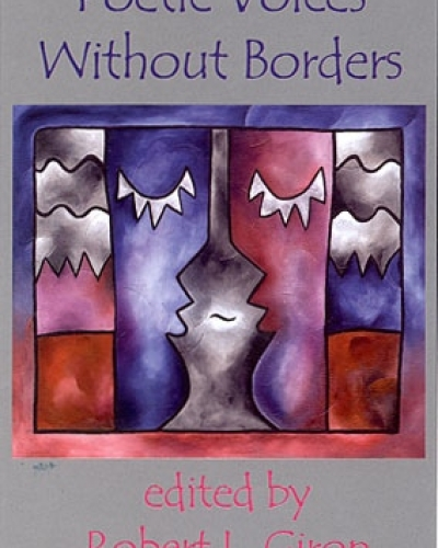 "Cover art and design for book ""Poetic Voices without Borders"" for Gival Press"
