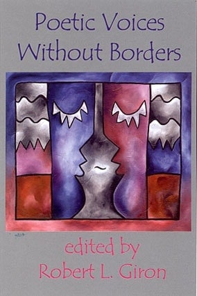 """Cover art and design for book """"Poetic Voices without Borders"""" for Gival Press"""