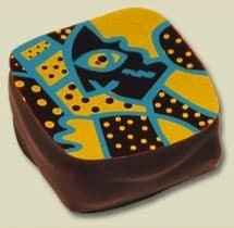 Design for chocolate for Artisan Confections