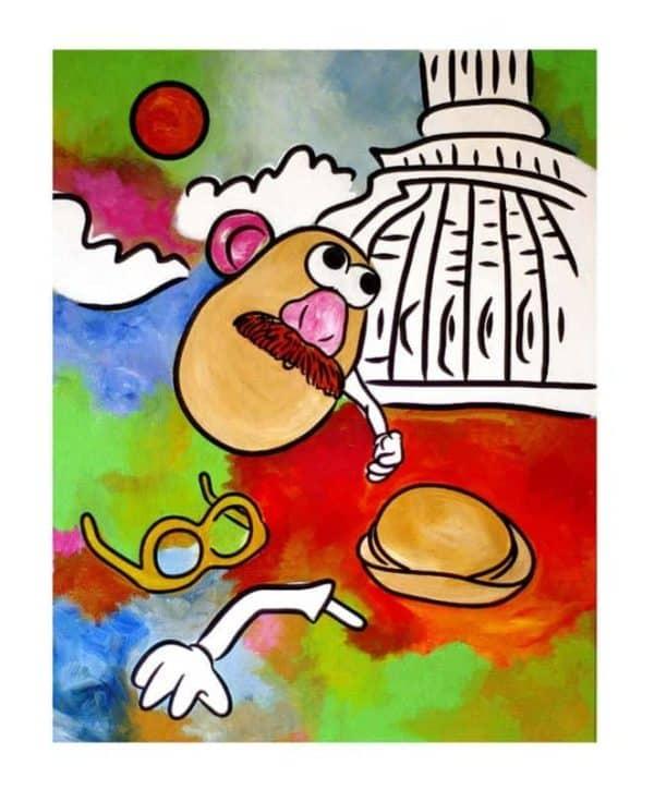 Mr Potato Head goes to Washington 1