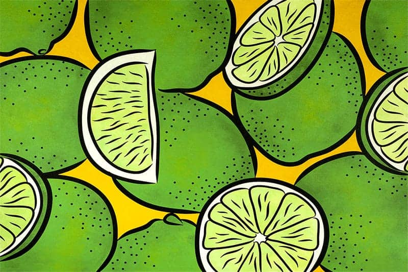 Limes painting
