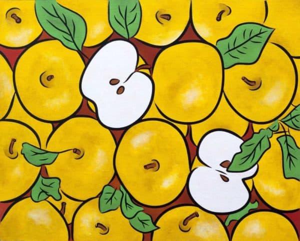 Yellow Apples 1
