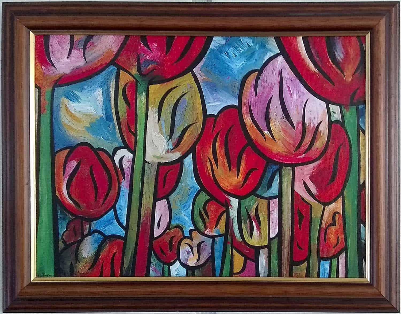 Tulips Rising 1