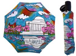 jefferson memorial cherry blossom umbrella