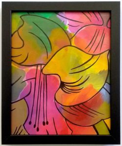 Amaryllis original painting