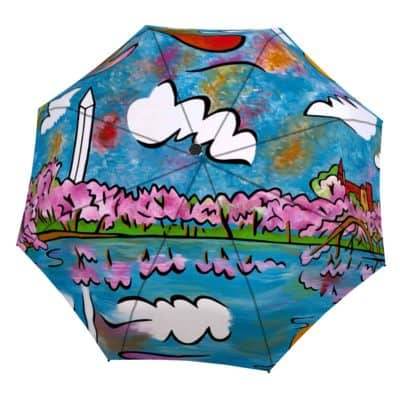 Washington Monument Cherry Blossom umbrella