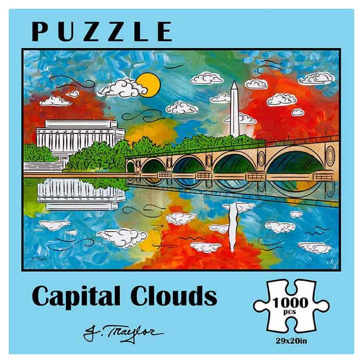 capital clouds 1000pc puzzle