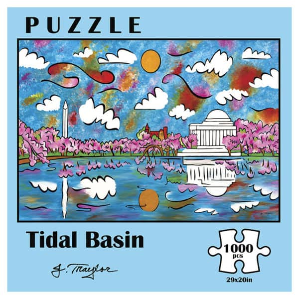 tidal basin 1000pc puzzle