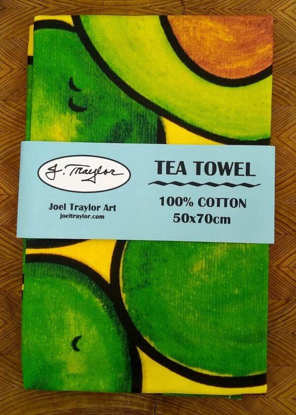 Tea Towel ~ Avocados 2