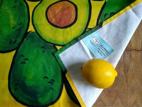 Tea Towel ~ Avocados 3