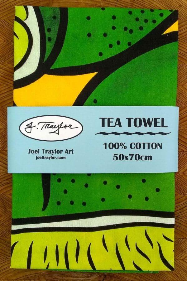 Tea Towel ~ Limes 2