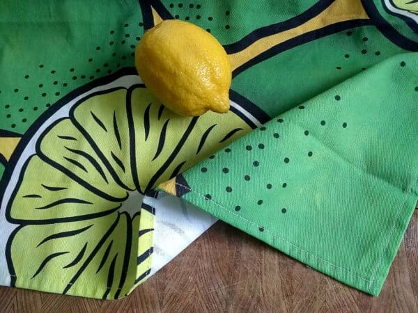 Tea Towel ~ Limes 1