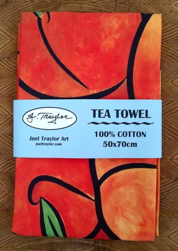 Tea Towel ~ Peaches 2