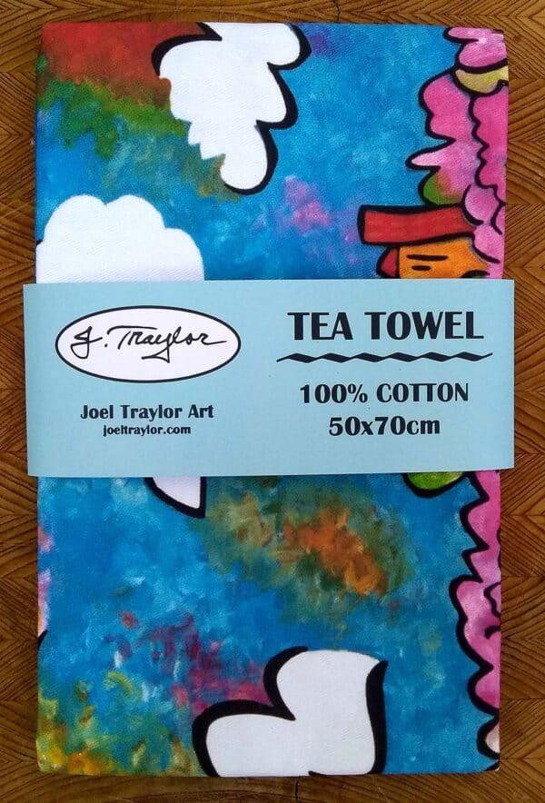 Tea Towel ~ Tidal Basin 2