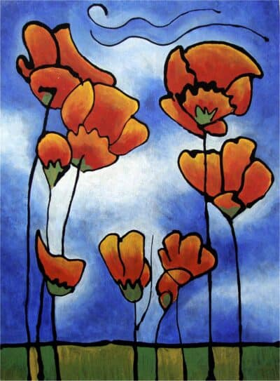 Thoughts of Spring, California Golden Poppies