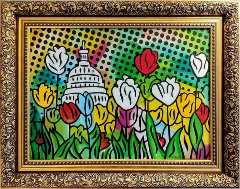 Capitol Pop painting